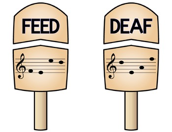 Treble Clef Treats: Identifying Four-Letter Words in the Treble Clef Staff