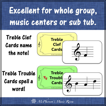 Treble Clef Note Names Music Board Game {Treble Trouble}