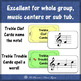 Treble Clef: Treble Trouble - a board game for reviewing n