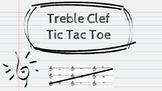 Treble Clef Tic Tac Toe
