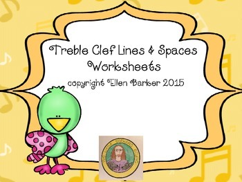Treble Clef Worksheets