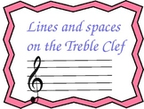 Treble Clef and Bass Clef Practice with two Spanish Slides!