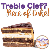 Treble Clef is a Piece of Cake! {A bundled set of activiti
