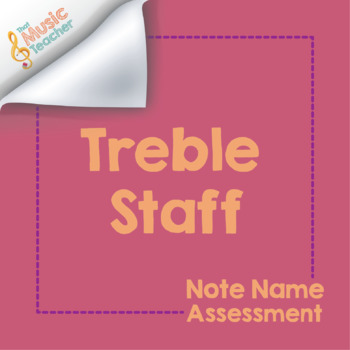 Treble Staff Note Name Assessment