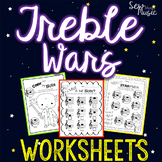 Treble Wars - Music Worksheets