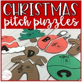 Treble and Bass Clef Christmas Puzzles