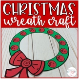 Treble and Bass Clef Christmas Wreath Craft