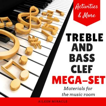 Treble and Bass Clef Mega-Set