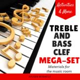Treble and Bass Clef Bundle