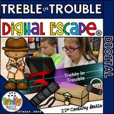 Treble in Trouble Digital Escape®  Distance Learning