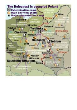 Treblinka - The Holocaust Word Search