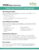 Tree Activity Package - Outdoor STEM Activities for Learning About Trees