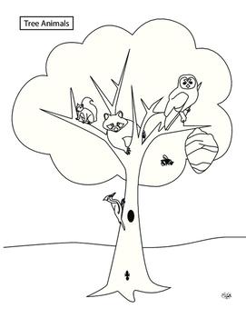 Tree Animals