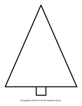 Tree Bar Graphing: Differentiated