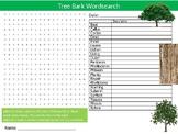 Tree Bark Wordsearch Sheet Starter Activity Keywords Biolo