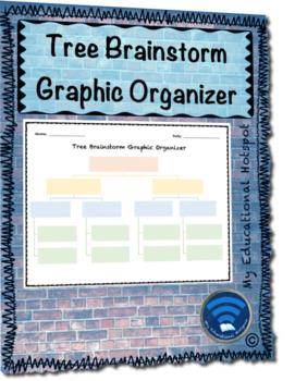Tree Brainstorm Graphic Organizer Template