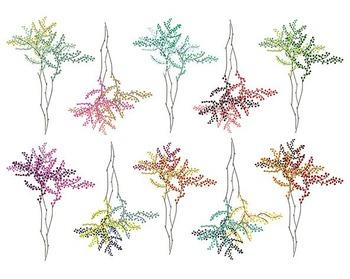 Tree Branch Clip Art Set #073