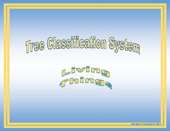 Tree Classification System--Living Things