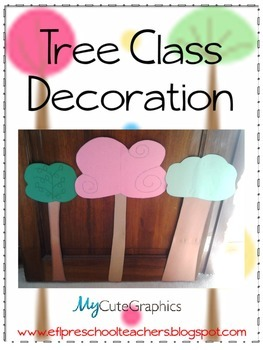 Tree Classroom Decoration