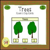 Trees Clip Task Cards