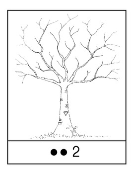 Tree, Leave Counting 1-10
