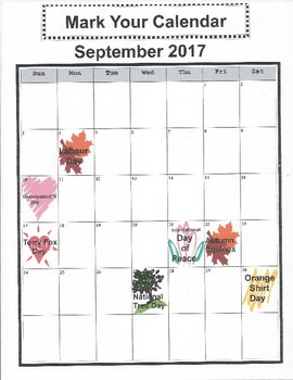 Mark Your Calendar - National Tree Day