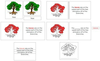 Tree Definition Set (Red)