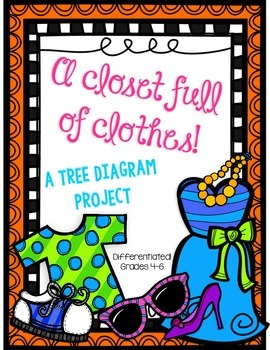 Tree Diagram Project using Clothes- Differentiated!
