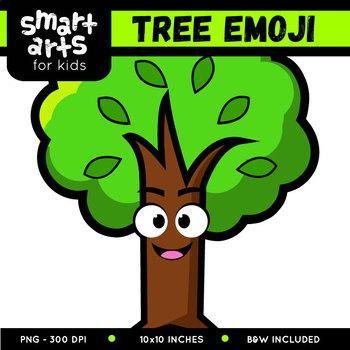 Tree Emoji Clip Art