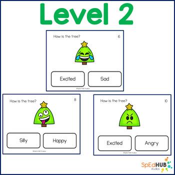 Tree Emotion Task Cards - FREEBIE