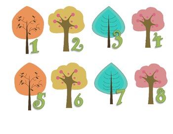 Tree-Eco-Environment Calendar Set