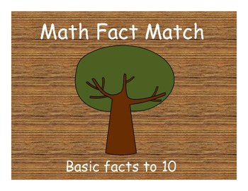 Tree Facts to 10 - Math Game