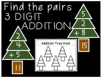 Tree Farm 3 Digit Addition