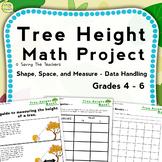 Tree Height Measurement Outdoor Math Activity