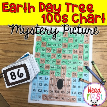 Tree Hundreds Chart Mystery Picture