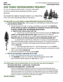 Tree Infographic Project for Biology and Environmental Science