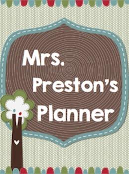 Tree Love Mini Teacher Planner Set