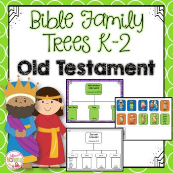 Bible Family Trees K-2