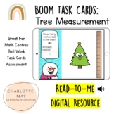 Tree Measurement: Boom Task Cards!