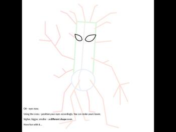 Tree Monster art lesson