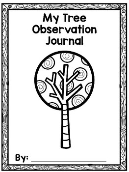 Tree Observation Journal FREEBIE
