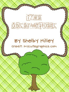 Tree Observations Sheet