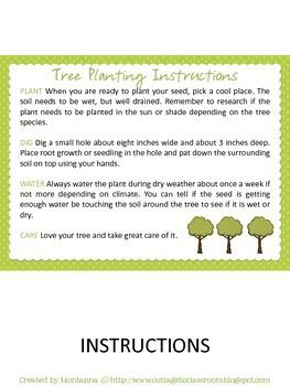 Tree Planting Kit for Elementary