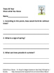 Trees Poem and Literacy Packet