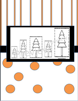 Tree Sizing Cut and Paste Shortest to Tallest or Tallest to Shortest