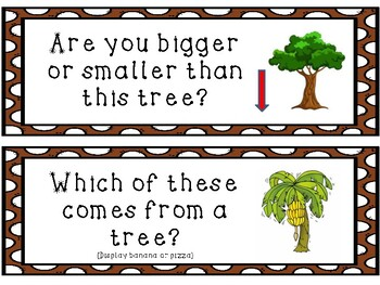 Tree Study Bundle Question of the Day