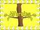 Tree Themed Classroom behavior chart for use with owls or birds