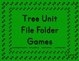 Tree Unit File Folder Games Preschool and Kindergarten