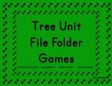 Tree Unit File Folder Games Preschool and Kindergarten