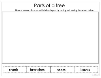 Tree Unit Study(Printables, Centers, Hands on activities and Games)